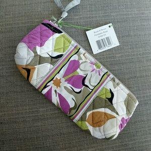 Vera Bradley Brush &Pencil Bag NWT